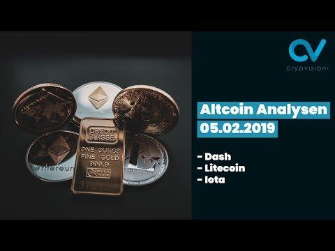 Altcoin Analysen zu Litecoin,Dash und IOTA!