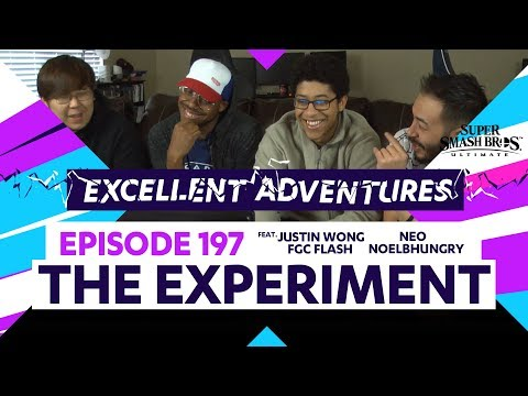 Excellent Adventures Ep. 197 feat. gootecks, JWong, Flash, NoelBHungry & Neo – THE EXPERIMENT – SSBU