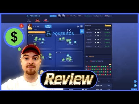Dapp Review – PokerEOS (EOS) – Profit Sharing Casino – Passive Income!