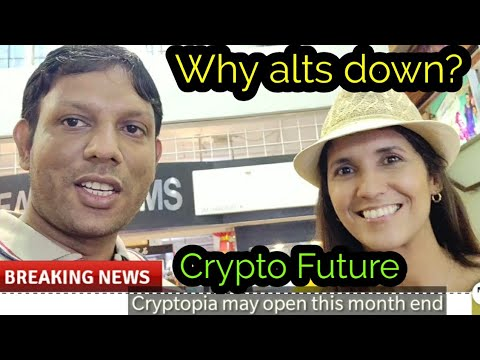 Cryptopia cryptocurrency exchange reopen latest news,  Why alts coins die ? Crypto manipulation