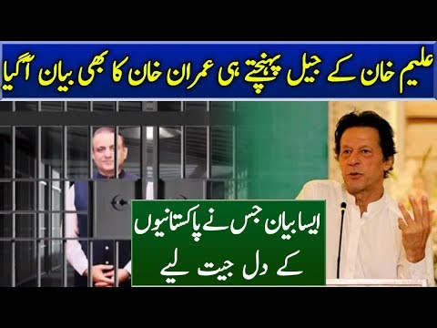 Imran Khan Amazing Statement on Aleem Khan Arrest | Neo News