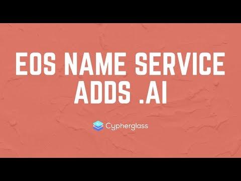 EOS Name Service .ai Account Names!