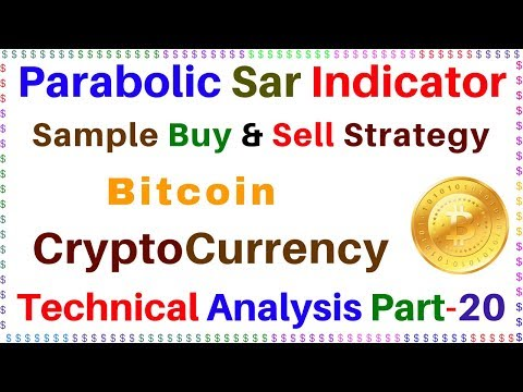 #Parabolic_Sar_Indicator, Sample Buy And Sell Strategy, CryptoCurrency Technical Analysis Part-20