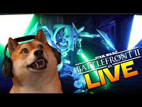 Star Wars Battlefront 2! Doge plays 1080p60 PS4 Gameplay LIVE