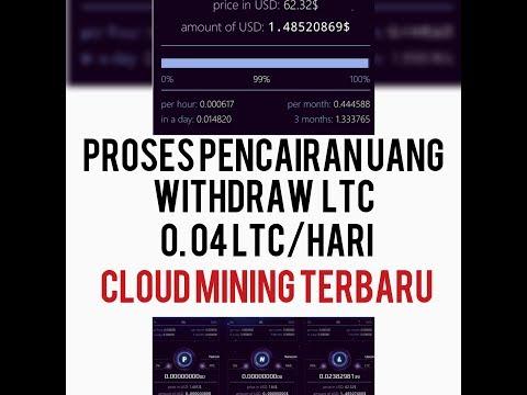 PROSES PENCAIRAN UANG(LTC) ONLINE CLOUD MINING TERBAIK