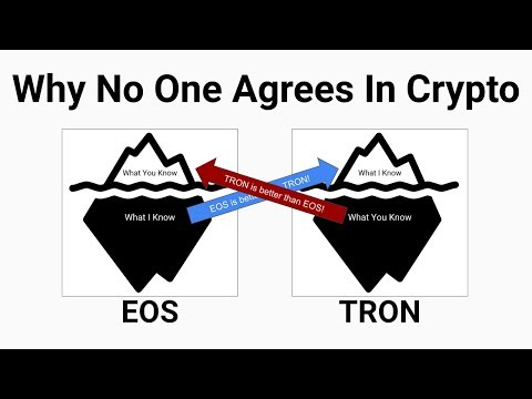 EOS vs TRON: Why No One Agrees In Crypto