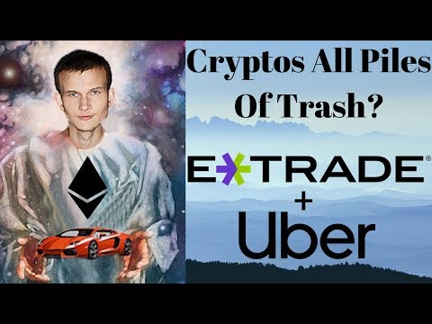Vitalik Says EOS TRX & NEO Are Sh*t!!! Uber & Etrade Crypto Platform? Tom Lee Bear! RPD Giveaway!