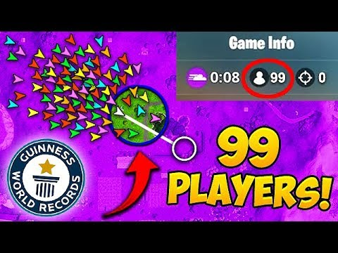 *99 PLAYERS* IN FINAL CIRCLE! *NEW* RECORD – Fortnite Funny Fails and WTF Moments! #464