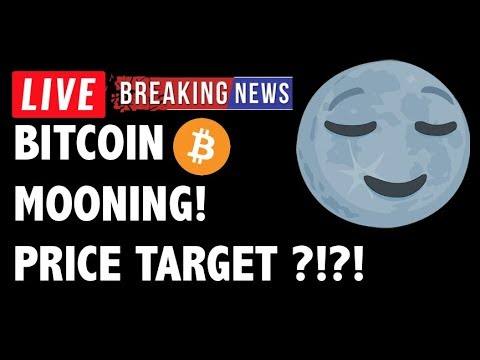 Bitcoin Is MOONING! Price Target for BTC?! – Crypto Market Trading Analysis & Cryptocurrency News