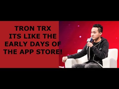 TRON TRX ITS LIKE THE EARLY DAYS OF THE APP STORE!