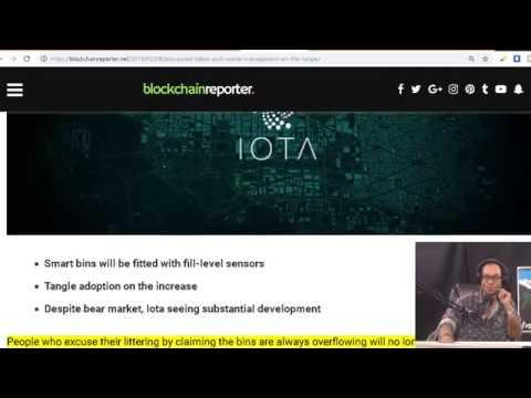 IOTA based Lidbot Puts Waste Management on the Tangle.Philippino Crypto Regulations. VanEck ETF
