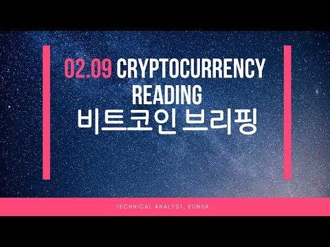 [02.09/비트코인] Cryptocurrency Reading / Bitcoin 시황브리핑