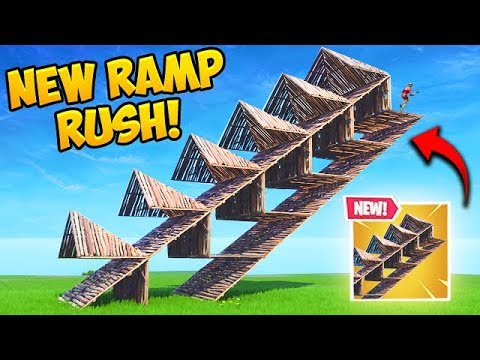 *NEW* EPIC RAMP RUSHING TRICK! – Fortnite Funny Fails and WTF Moments! #465