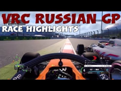 VRC Season 1 Russian GP – Race Highlights – 6.2.2019