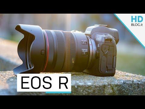 RECENSIONE CANON EOS R: fantastiche le foto, meno i video