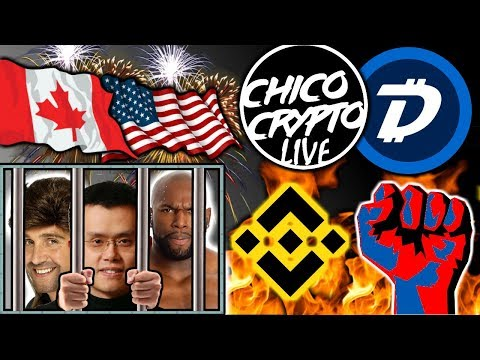 Canada + US Will Extradite CZ Binance: Jailtime? Digibyte Tells Their Story. Crypto News