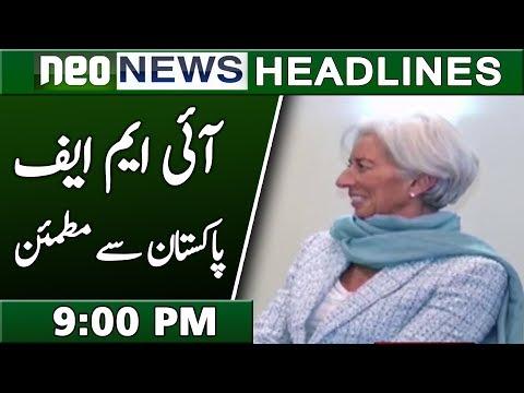 Imran Khan & I M F Chief | Neo News Headlines 9:00 PM | 10 February 2019