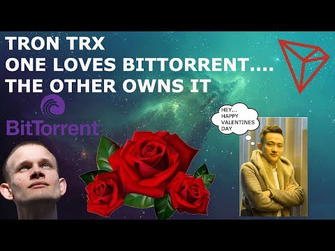 TRON TRX VITALIK BUTERIN CALLS BITTORRENT MEGA SUCCESS!! JUSTIN TO SEND FLOWERS! LOL