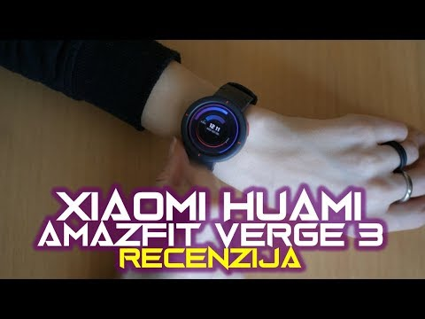 Xiaomi Amazfit Verge 3 recenzija – kompaktan, udoban i povoljan (11.02.2019)