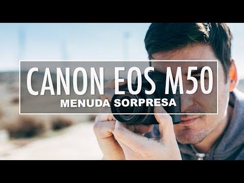 Canon EOS M50 – Una de las sin espejo más baratas (Review)
