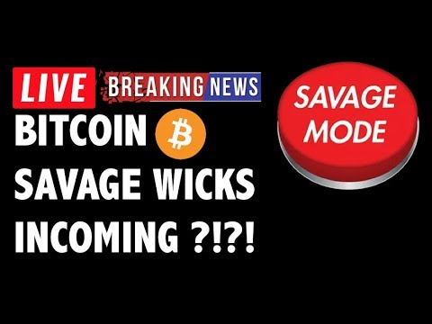 Bitcoin SAVAGE BOT WICKS Incoming for BTC?! – Crypto Market Trading Analysis & Cryptocurrency News