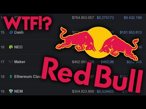 You won't believe what Cryptocurrency RedBull partnered with!!!