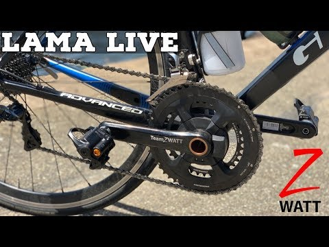 LAMA LIVE: Zwatt Zpider Power Meter // Tacx Neo 2 // Lama Lab Test