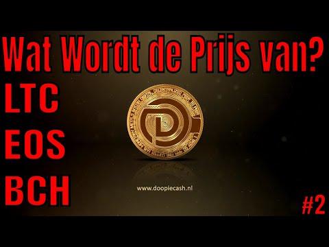 ❓Wat Wordt de Prijs van crypto? #2 | LTC, EOS, BCH | Doopie Cash
