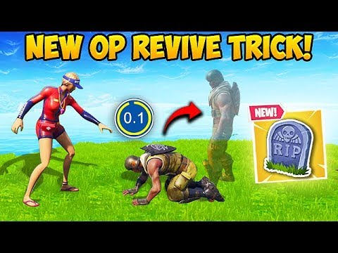 *NEW* SUPER OP REVIVE TRICK! – Fortnite Funny Fails and WTF Moments! #467