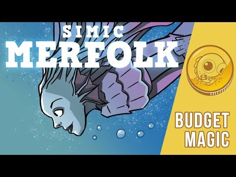 Budget Magic: $89 (7 tix) Simic Merfolk (Standard, Magic Arena)