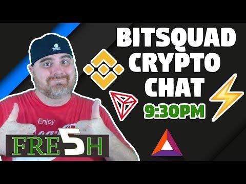 Binance & Tron Criminals?   Bitcoin Lightning Network News   BitSquad Crypto Chat