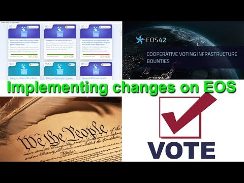 EOS needs a new Constitution + Proxy voter activism