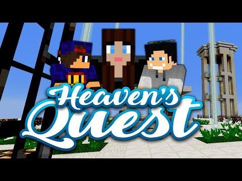 🐷 Zosia, Gosia i Samo! Sia! 🐷 Minecraft Heaven's Quest Survival #09 w/ Madzia, GamerSpace