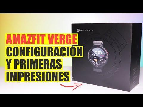 Amazfit Verge, configuración y primeras impresiones