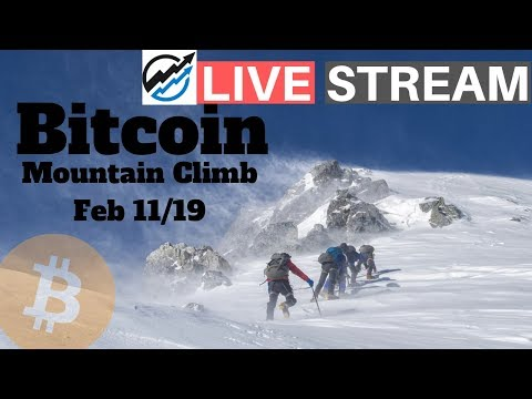 A Mountain To Climb – cryptocurrency and bitcoin price news  Feb 11/19 – Episode 87
