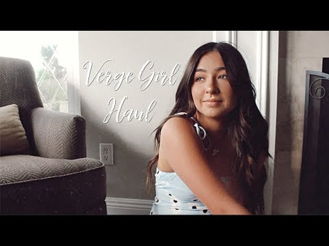 VERGE GIRL TRY-ON HAUL (cinematic)