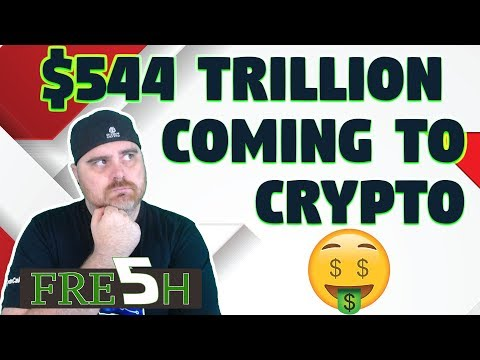 $544 Trillion Coming Into Crypto? | $DGB & $ELA vs Binance | SEC vs Devs
