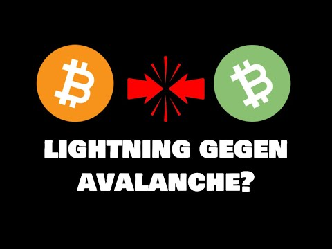 Bitcoin Lightning gegen Bitcoin Cash Avalanche – wer wird gewinnen?