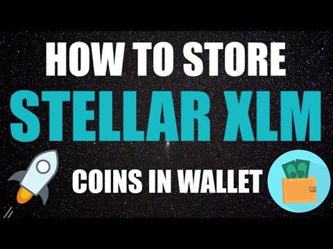 HOW TO STORE STELLAR XLM COIN (HINDI)