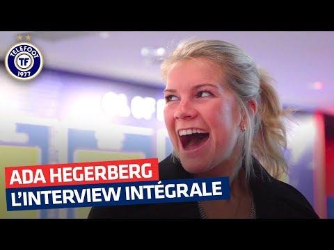 """Ada Hegerberg – Ballon d'or : """"J'aimerais le pur talent de Messi et le mental de Ronaldo"""""""