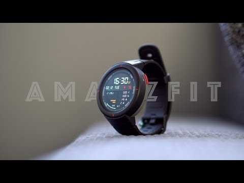 Xiaomi AMAZFIT Verge Smartwatch | Radically changed!