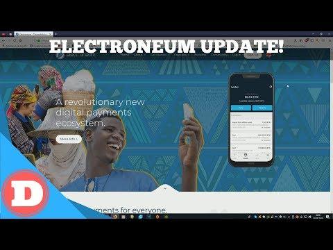 Electroneum Update! – Cloud Mining, MWC 2019 & IOS App