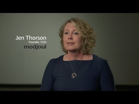 Modjoul Delivers Safety Data to Customers Five Times Faster Using AWS IoT
