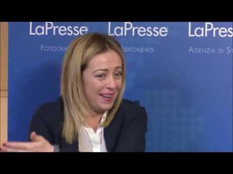 """Giorgia Meloni a Lapresse: Scandaloso che Conte sia stato chiamato """"burattino"""""""