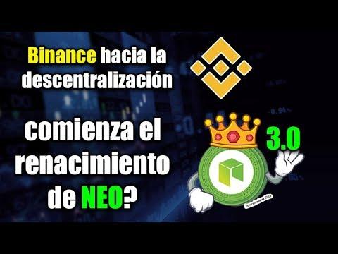 comienza el renacimiento de NEO?, binance hacia la descentralización