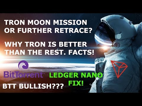 TRON TRX MOON MISSION OR FURTHER RETRACE? !?
