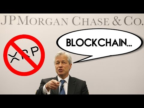 Newsflash: J.P. Morgan launches Cryptocurrency! (R.I.P. XRP)