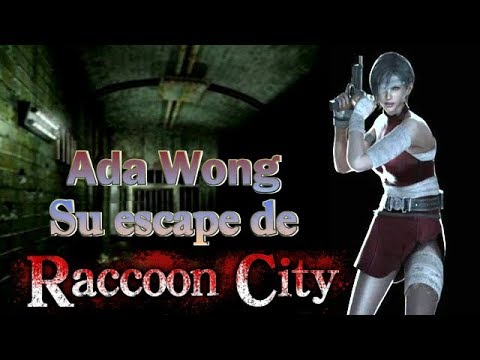 Ada Wong y su escape de Raccoon City