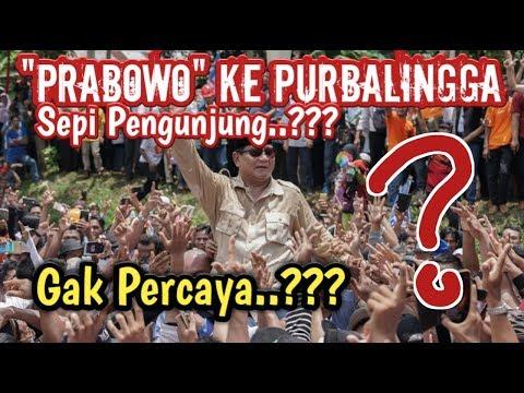 """SABAR PAK!!! ~ PRABOWO KE """"PURBALINGGA"""",,, GAK ADA PENGUNJUNG..???"""