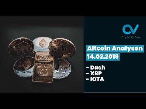 Altcoin Analysen zu Dash,XRP und IOTA!